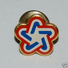Nice Vintage USA Patriotic Red White & Blue STAR Pin / Tie Tack Rare