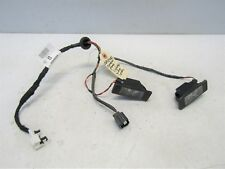 NISSAN QASHQAI 2014-17 REAR NUMBER PLATE LIGHTS & WIRING LOOM 240844EA0A  #5809V