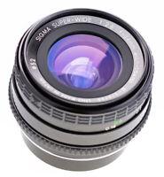 Sigma 24 mm f 2,8 Super Wide Macro MC for Contax / Top Prime Lens  ( 687 )