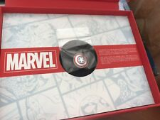 """D23 Expo 2017 Exclusive """"What's Your Passion"""" Marvel Captain America Shield  LE"""