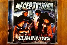Deceptikonz - Elimination  -  Used CD VG