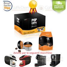 Capsule Uno System Compatibili Pop Caffè illy Kimbo 100 Capsule Cialde INTENSO