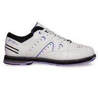 New Women's KR Strikeforce Quest White/Purple Bowling Shoes Size 8