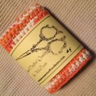 ** #4 NEW Hand Crocheted 100% Cotton Face Cloth Linens 8 x 8