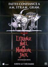 affiche du film ETRANGE NOEL DE MONSIEUR JACK (L') 120x160 cm