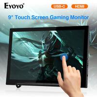 "Mini Eyoyo 9"" Touch Screen USB C HDMI Monitor IPS Display for Huawei DSLR Camera"