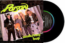 "POISON - UNSKINNY BOP - EP 7"" 45 VINYL RECORD PIC SLV 1990"
