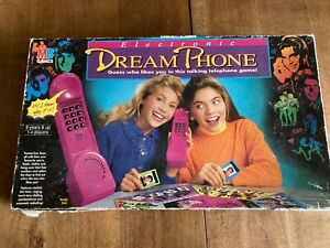 Vintage Dream Phone Board Game Working Order Family Fun