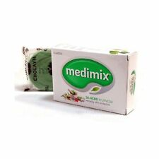 Medimix 18 Herbs Ayurveda Skin Protection Herbal Soap - 125 gm Unit (Pack of 6)