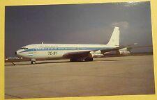 Fuerza Aerea Argentina Boeing B-707-387B TC-91 Aircraft Postcard