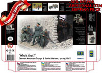 Master Box 3571 WWII German Troops & Soviet Marines Spring 1943 plastic kit 1/35