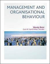 Management and Organisational Behaviour: European Edition by Wendy Bloisi,...