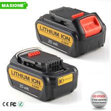 2 For DEWALT DCB200-2 DCB204 20V Max 4.0Ah 20Volt XR Lithium-Ion Battery Pack