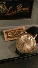 10k Gold Plated Lucien Piccard Automatic Seashark! Nice!