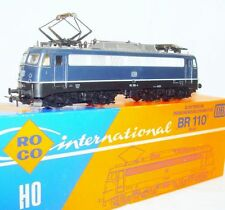 Roco DC HO 1:87 Deutsche Bundesbahn BR 110 Blue ELECTRIC LOCOMOTIVE MIB`78 RARE!