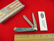 CASE XX USA 6207 MINI TRAPPER KNIFE GRAY BONE 2012  8 DOT NEW IN BOX