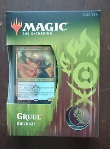 MTG Gruul Guild kit sealed English from Ravnica Allegiance Limited print