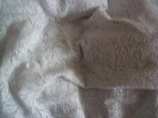 Grey & Silver Lurex Stretch Lace Fabric 8.5mts 131cm Wide