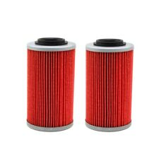 2 x Oil Filter 564 For Aprilia RSV Miller Can-Am Spyder RT-S RS-S Buell 1125R