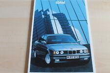 100488) BMW 5er Reihe E34 524td Prospekt 02/1990