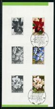 Belgium Scott #1187-1189 COVER Orchids FLORA $$