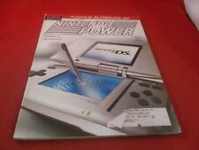 Nintendo Power Volume 187 Nintendo DS Cover w/Attached 2005 DS Calendar Pster C1