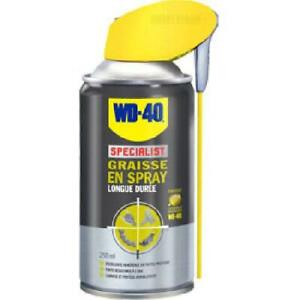 3X Graisse en spray SPECIALIST WD40 250ml -aerosol-