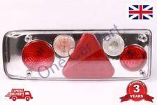 Universal 4 función LED Luces Traseras Remolque Caravan Trasero Lámparas Camión Camión LH
