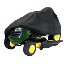 182x111x116cm Black Waterproof Riding Lawnmower Tractor Cover Uv Protection