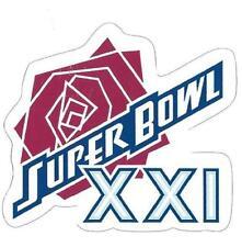 New York Giants Super Bowl XXI Logo Decal