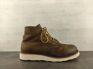 Red Wing 8181 Heritage Round Toe Leather Boot