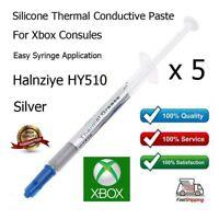 5X Alta Calidad Gris Plateado Térmico Disipador Pasta Grasa Para Xbox Consolas