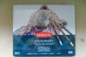 Derwent Colorsoft Coloring Pencils Set Of 24 Professional Quality