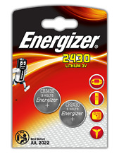 ENERGIZER Set di 2 batterie CR2430 in blister da 2 batteria
