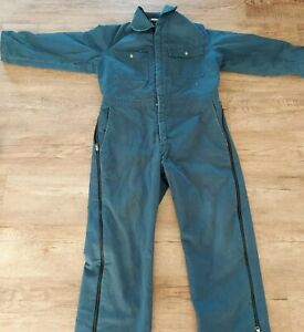 Vintage Walls Blizzard-Pruf Insulated Blue Coveralls Size Large Outerwear