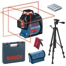 Bosch Linienlaser Kreuzlinienlaser GLL 3-80 + Stativ BT 150 im Koffer 06159940KD