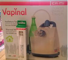 VAPINAL inalatore termale flusso di vapore caldo CAMI + omaggio termometro TFLAP