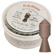 PALLINI PIOMBINI 4,5 SKENCO POLY RHINO PLASTICA E METALL ARIA COMPRESSA AIRGUN