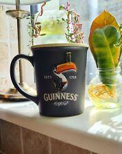 Guinness Large Ceramic Mug Toucan Design Black