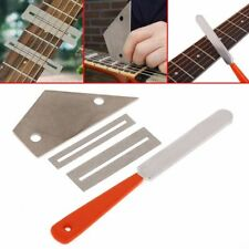 Fret Crowning Luthier File Leveling Grinding Tool Kits for Guitar Repairing