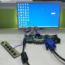 HDMI+DVI+VGA LCD Controller Board + AUO B101EW02 V.0 1280*720 10.1 Monitor
