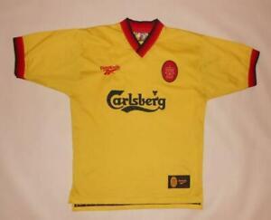 AWAY SHIRT REEBOK FC LIVERPOOL 1997-99 (S) Jersey Trikot Maillot Maglia Camiseta