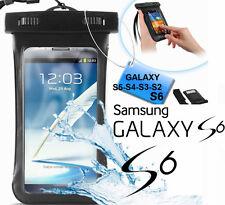 Custodia subacquea impermeabile Galaxy S6,S5,S4.Cover mare,sub + laccetto collo