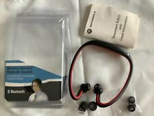Motorola Wireless Bluetooth Stereo Headphones Headset Works - missing charger