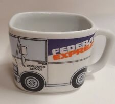 Federal Express Fed Ex Delivery Truck Coffee Mug