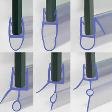 Bath Shower Screen Door Seal Strip for Glass Thickness 4-6mm Seal Gap 10 - 30mm