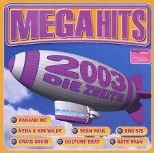 Mega Hits 2003-Die Zweite Nena & Kim Wilde, Kate Ryan, Frank Popp Ensem.. [2 CD]