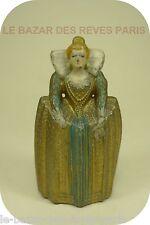 VERTUNNI.   Marie de Medicis. figurine en plomb.