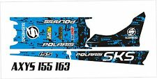 POLARIS AXYS TUNNEL TANK SKS decal GRAPHICS 800 600 PRO RMK ASSAULT 155 163 BLUE