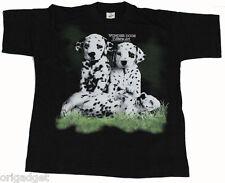 t-shirt imprimé CHIENS DALMATIEN CHIOTS PETITS CHIENS MST019 taille 8A 130 cm